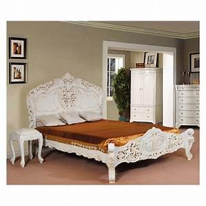 Bett 160x200 Weiß : weiss rokoko barock bett 160x200 cm ~ Indierocktalk.com Haus und Dekorationen