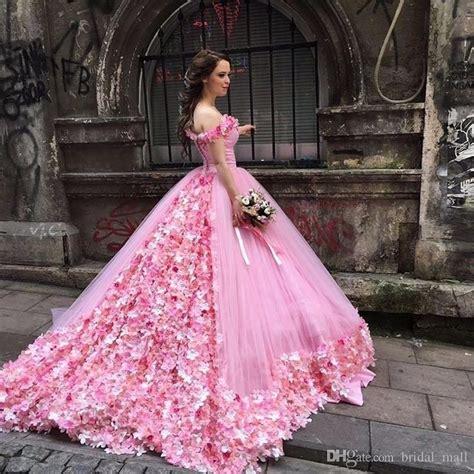 pink celebrity dresses aleanas bridal