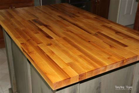 Caring For Our Butcher Block  Tempting Thyme