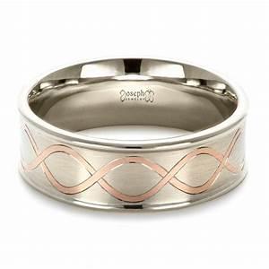custom men39s wedding band 1423 With custom mens wedding ring