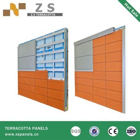 exterior wood grain terracotta cladding wall tiles