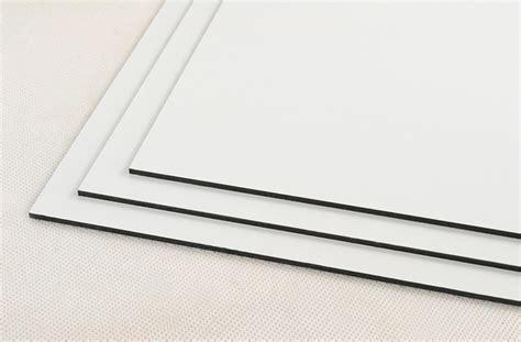 white dibond fr fire retardant aluminium composite panel cut plastic sheeting