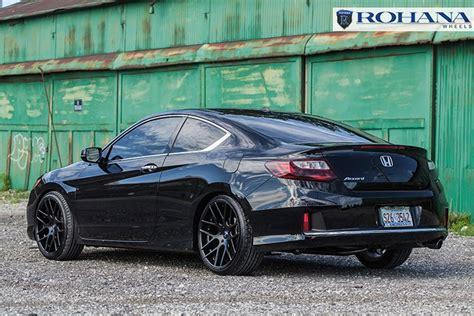 20 quot rohana rc26 black concave wheels rims fits honda