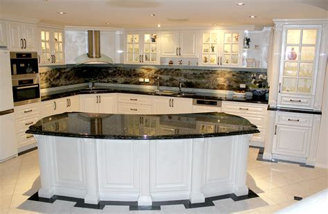 Black Granite Bench Tops by Pk Kitchen Design Westlake Pk Kitchen Design