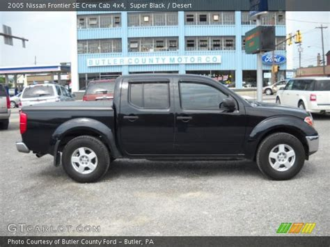 2005 Nissan Frontier Crew Cab by Black 2005 Nissan Frontier Se Crew Cab 4x4