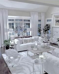 Pin, On, 100, Trending, White, Living, Room, Decor, Ideas