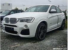 Spied BMW X4 begins arriving at European dealerships