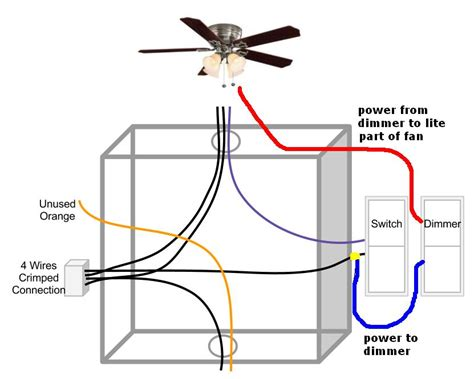 Ceiling Fan Wiring Three Way Switch Electrical Diy