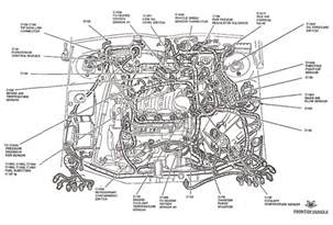 ford taurus engine diagram ford wiring diagrams