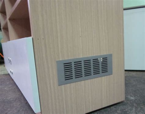 5pcs lot 300 80mm aluminum air vent ventilator grille for closet shoe cabinet in furniture