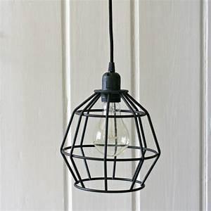 Black, Geometric, Pendant, Light, By, Magpie, Living