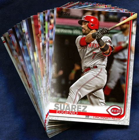 Shop for mlb trading cards, autographed cards, and more at mlbshop.com. 2019 Topps Cincinnati Reds Baseball Cards Team Set