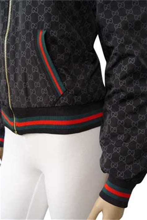 Womens Designer Clothes   GUCCI Zip Up Warm Hooded Jacket #29