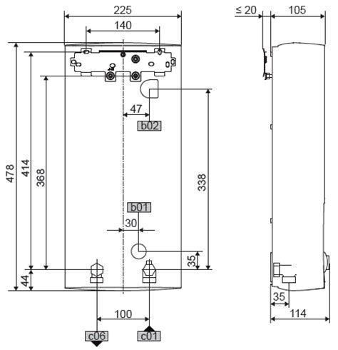 stiebel eltron 232011 dhb e 18 21 24 sl electronic elektronischer durchlauferhitzer 400v