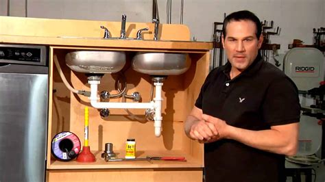 fix leaking sink drain sink leaking from drain how to fix it diy home improvement