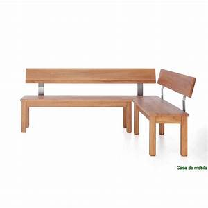 Solid Wood Corner Seat Group Core Beech Solid Dining