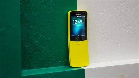 nokia 8110 4g review on the banana phone matrix phone is now available for 163 49 alphr