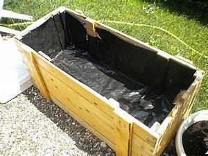 Bac En Bois Pour Plantes : bac fleur en bois de palette bacs bois wood box ~ Dailycaller-alerts.com Idées de Décoration