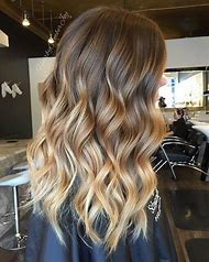 Balayage Highlights Blonde Brown Hair
