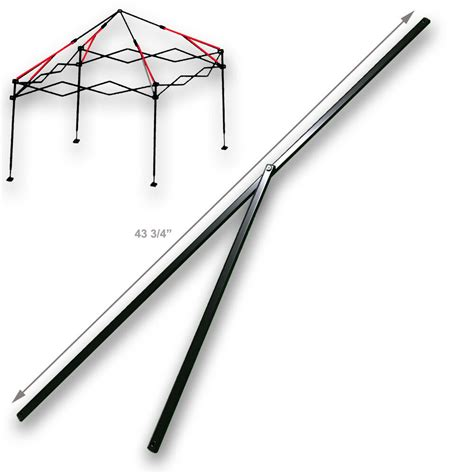 ozark trail instan    canopy gazebo  peak truss bars metal parts ebay