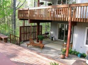 Surprisingly Deck House Designs by Balcony Deck Design Lightandwiregallery