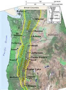 cascade mountain range in oregon
