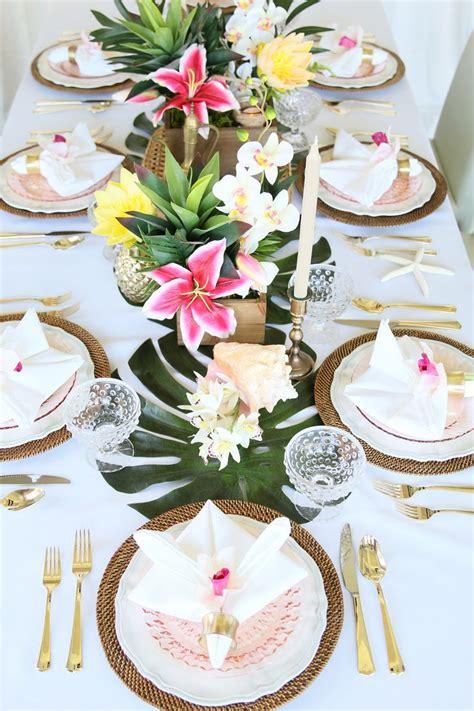 Best 25+ Luau Table Decorations Ideas On Pinterest Luau