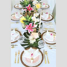 Best 25+ Luau Table Decorations Ideas On Pinterest Luau