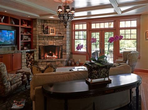 Decorating Ideas For River House by 20 Cozy Corner Fireplace Ideas For Your Living Room
