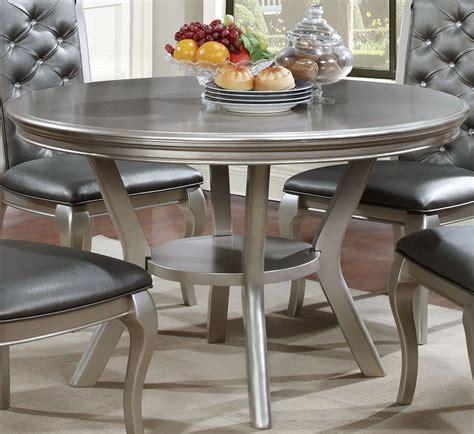 amina champagne  table  furniture  america