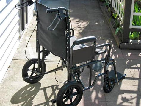 Invacare Bariatric Transport Chair by Almost New Invacare Wide Bariatric Transport