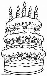 Coloring Cake Birthday Pages Printable Cookies Cool2bkids Cakes Cupcakes Happy Drawing Getdrawings Cupcake Getcolorings Baked Goods sketch template