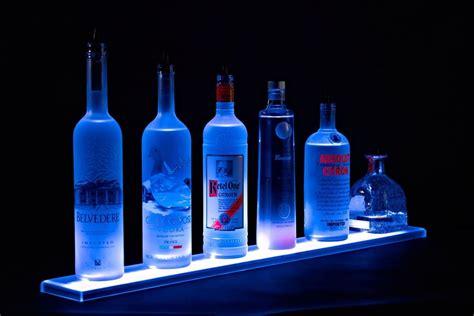hometalk home bar lighting  led lighted liquor