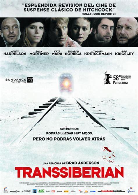 transsiberian  poster  trailer addict
