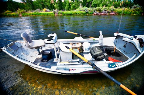 Floating Boat Images by Rock Creek Anglers Drift Boat Rock Creek Anglers