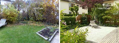 Kleinen Garten Gestalten Vorher Nachher by Gartenblog Zu Gartenplanung Gartendesign Und
