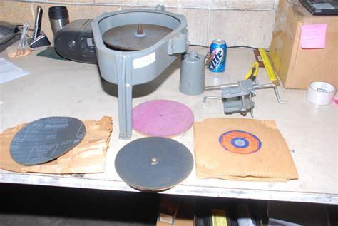 gem maker lapidary flat lap grinder  wheels