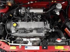 2001 Chevrolet Metro Lsi 1 3 Liter Sohc 16