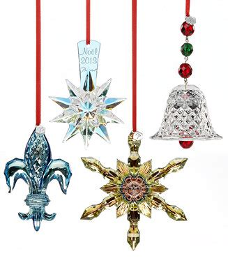baccarat christmas ornament collection christmas