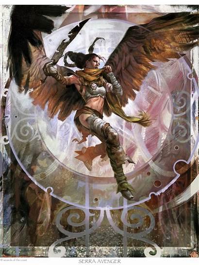 Scott Fischer Artist Serra Avenger Fantasy Illustrations
