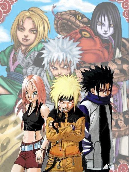 team  naruto  sasuke anime naruto