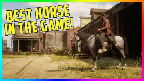 rdr2 horse fastest dead redemption game