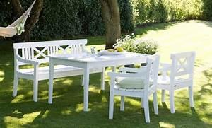 Gartenmöbel Weiß Holz : gartenmobel aus holz in weiss ~ Whattoseeinmadrid.com Haus und Dekorationen
