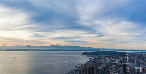 View Of The Sky by See Seattle From The Land At Sky View Observatory