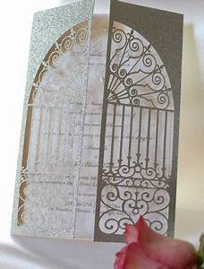 church gates laser cut wedding invitation cards 4 ever With laser cut wedding invitations edinburgh