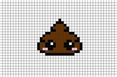Pixel Poop Minecraft Pixelart Designs Easy Templates