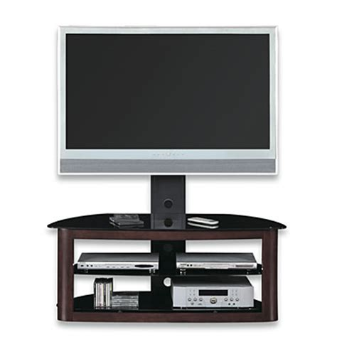 View Wood Glass Swivel Mount Tv Stand Deals At Big Lots