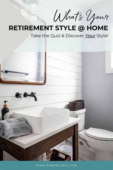 Are you prepared for everything that comes with retirement including the mental, social, physical, financial. What's Your Retirement Style @ Home Quiz - Paradigm ...
