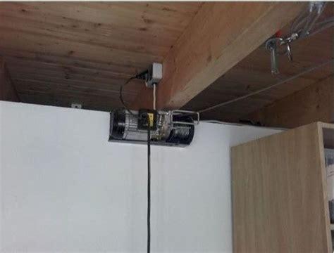 Garage Deckenmontage seilzug f 252 r dachbox in der garage bauanleitung zum
