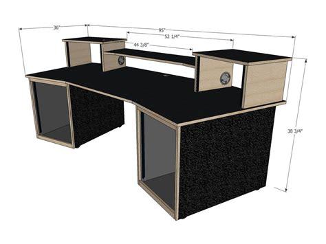 recording studio desk plans scs digistation recording studio desks studio